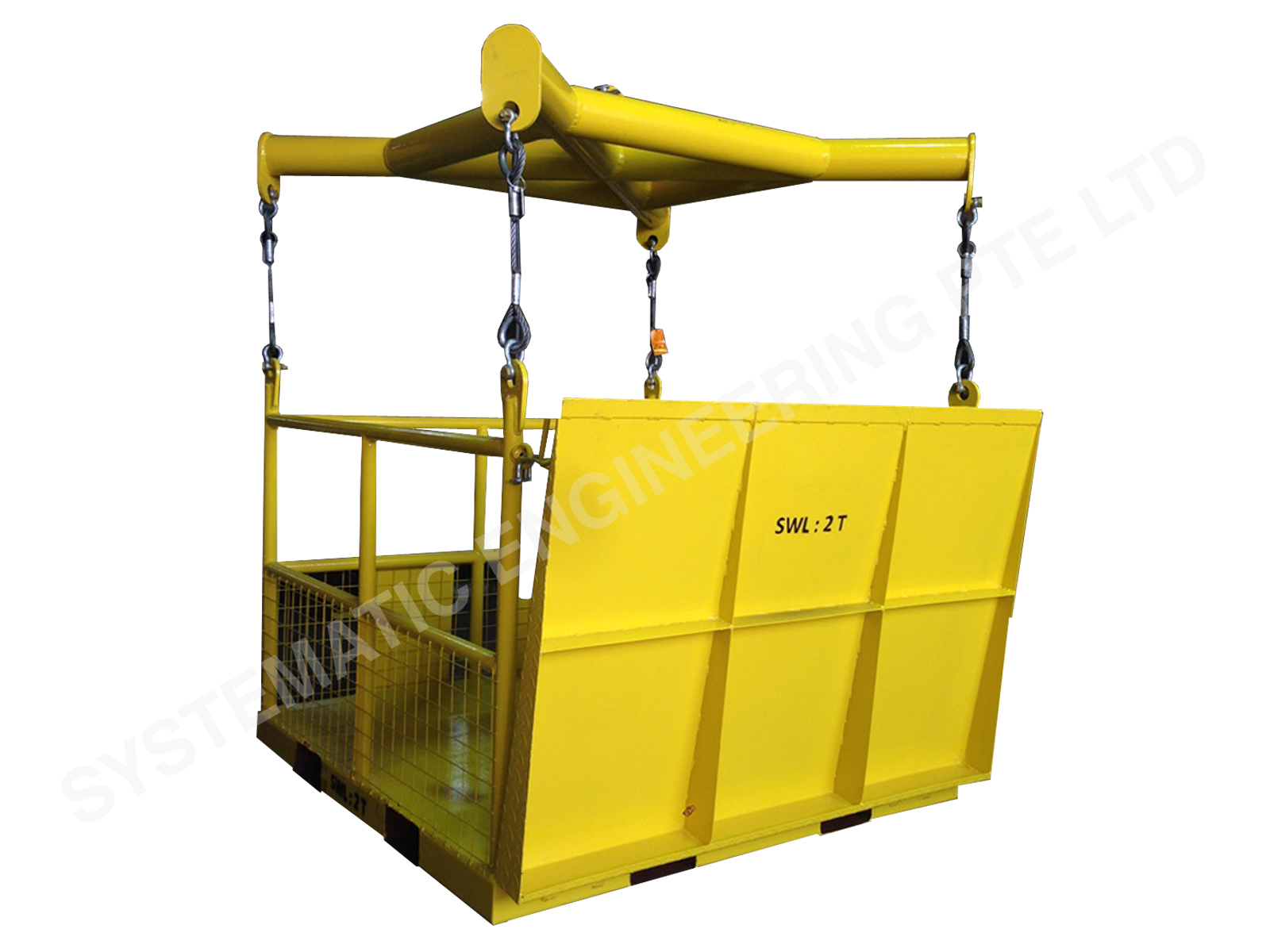 Customized Lifting Cage
