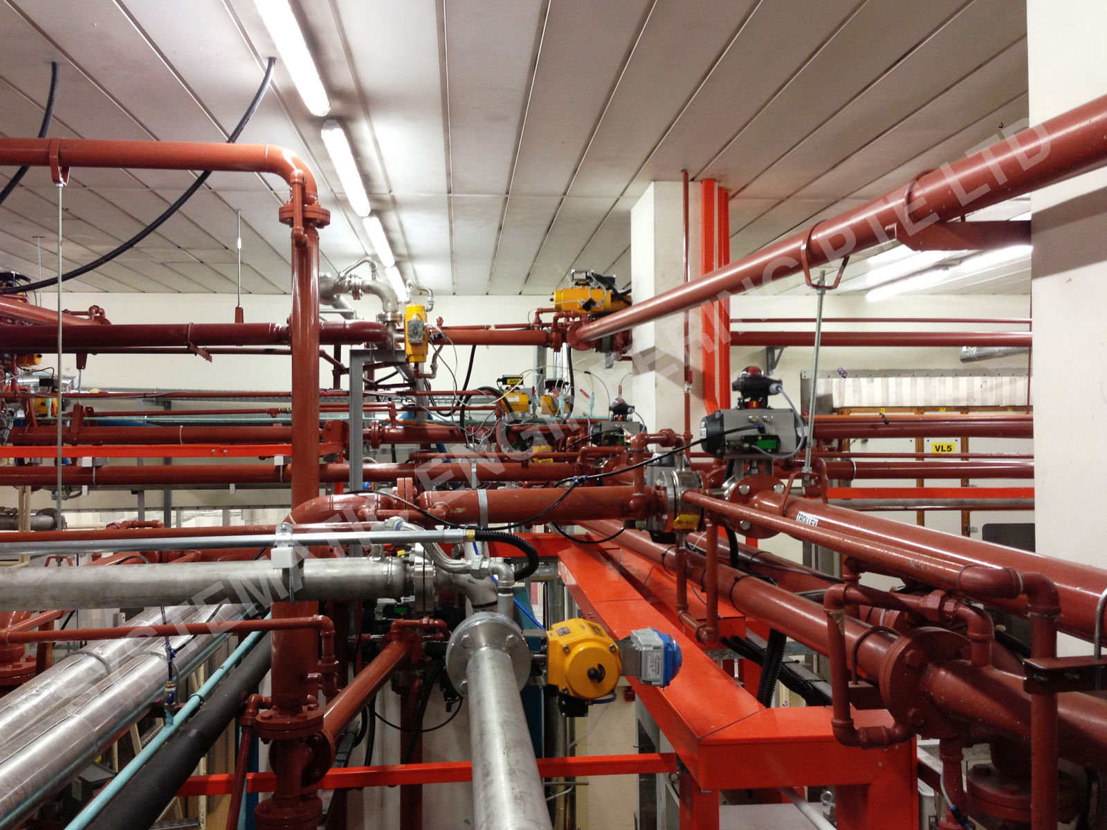 Food Plant Jacketed Piping Works 1