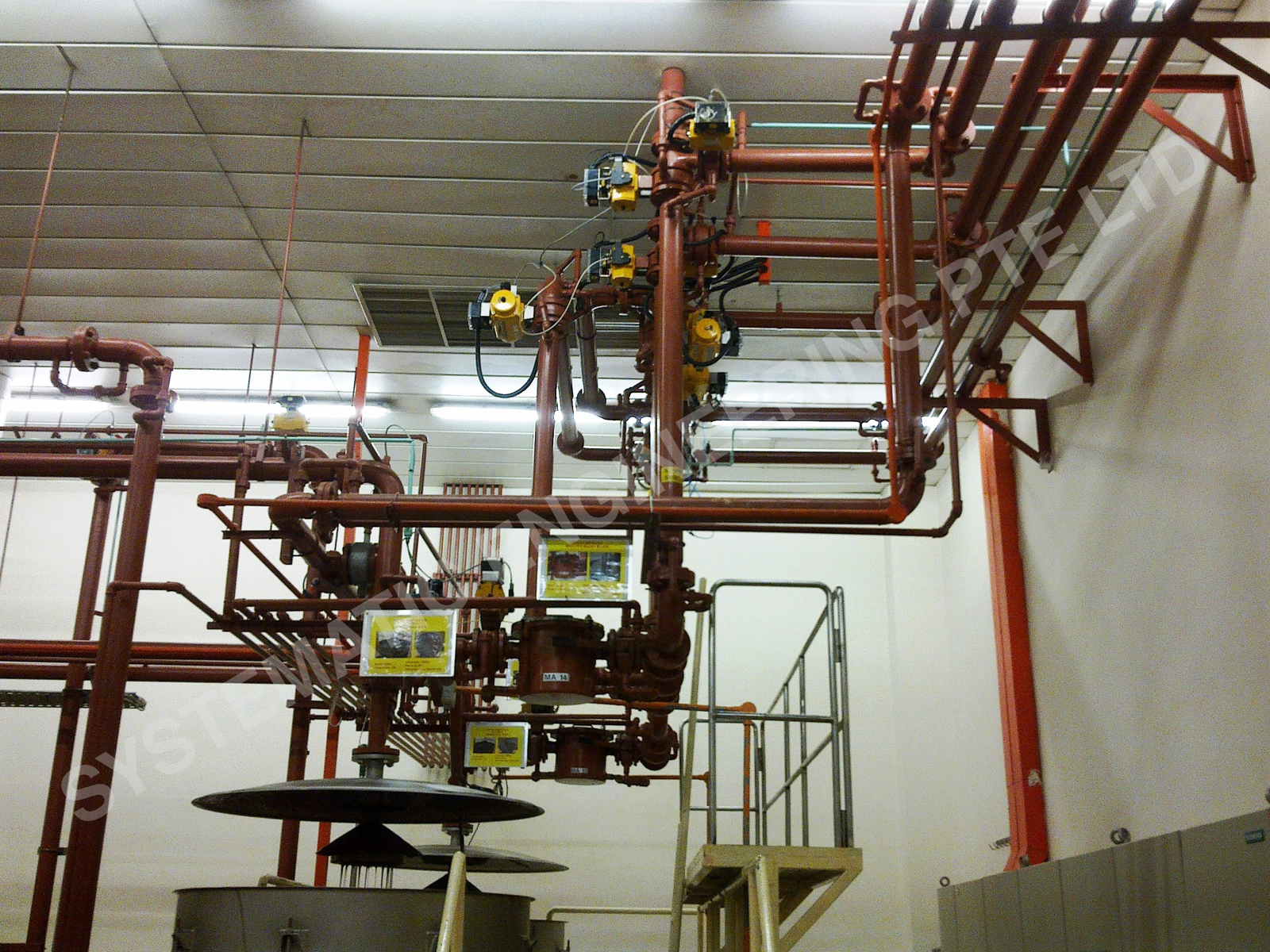 Food Plant Jacketed Piping Works 2