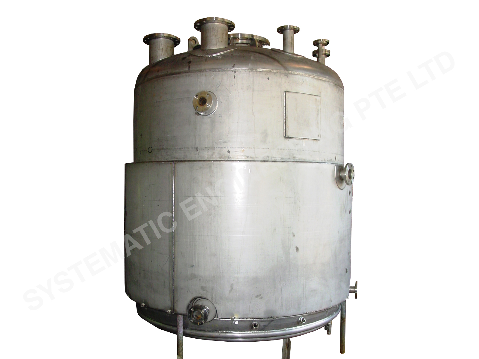Jacketed Pressure Vessel Turnkey System