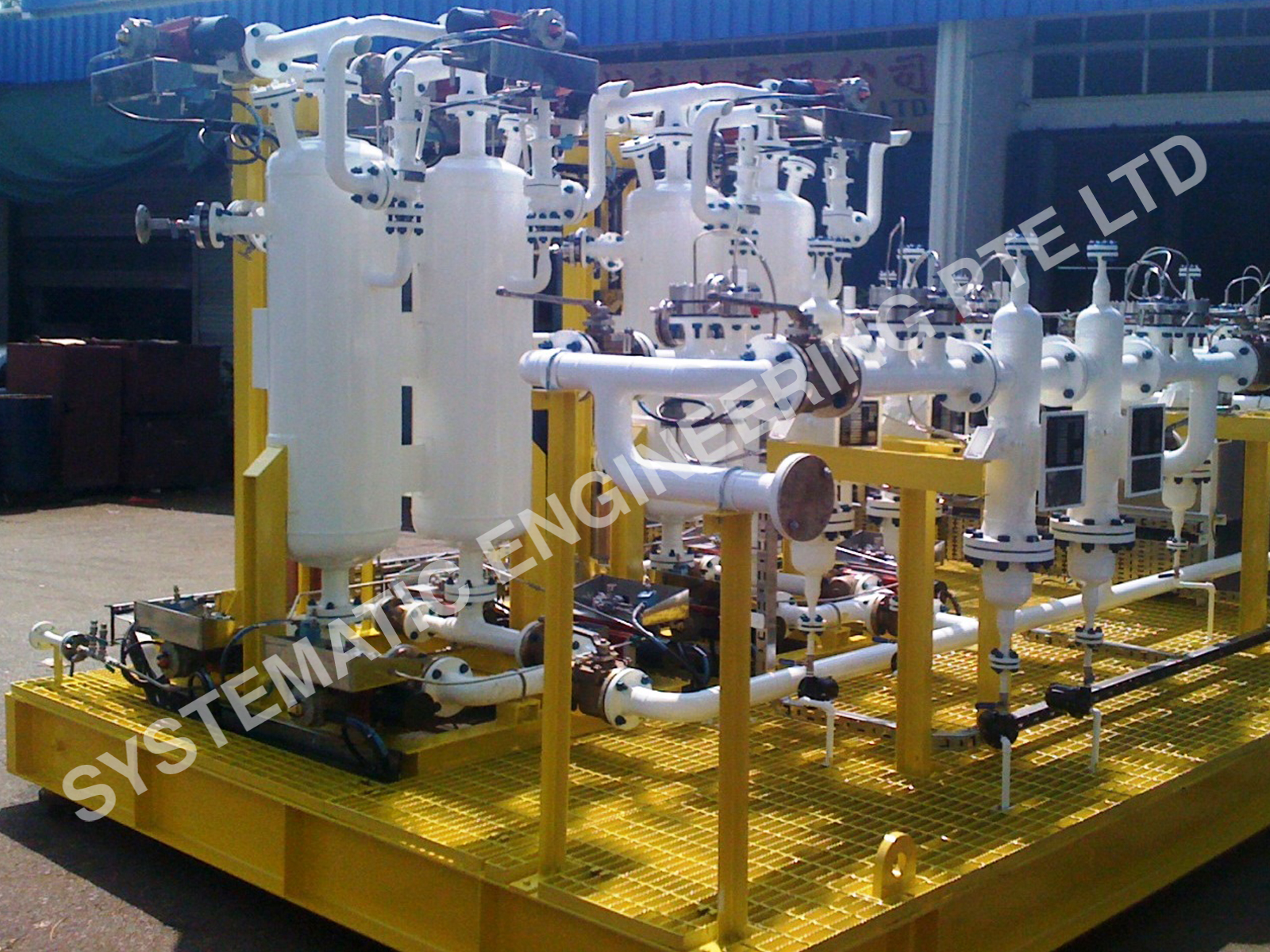 Equipment Skid Fabrication and Assembly